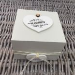 Shabby Personalised Chic Auntie Aunty Great Aunt Gift Trinket Box Jewellery Box - 253191090469